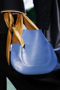 Celine Blue/Tan Hobo Bag - Fall 2016