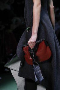 Celine Burgundy/Black Shoulder Bag - Fall 2016