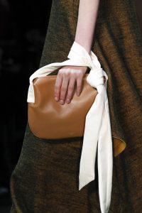 Celine Tan/White Shoulder Bag - Fall 2016