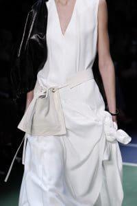 Celine White Belt Bag 2 - Fall 2016