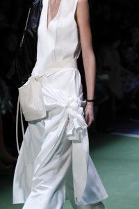 Celine White Belt Bag - Fall 2016