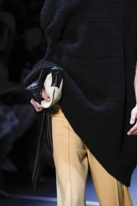 Celine White/Black Clutch Bag - Fall 2016