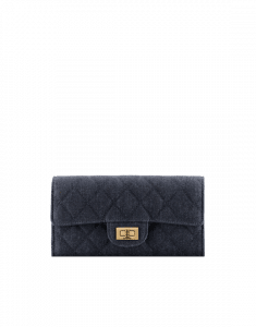 Chanel 2.55 Reissue Denim Flap Wallet