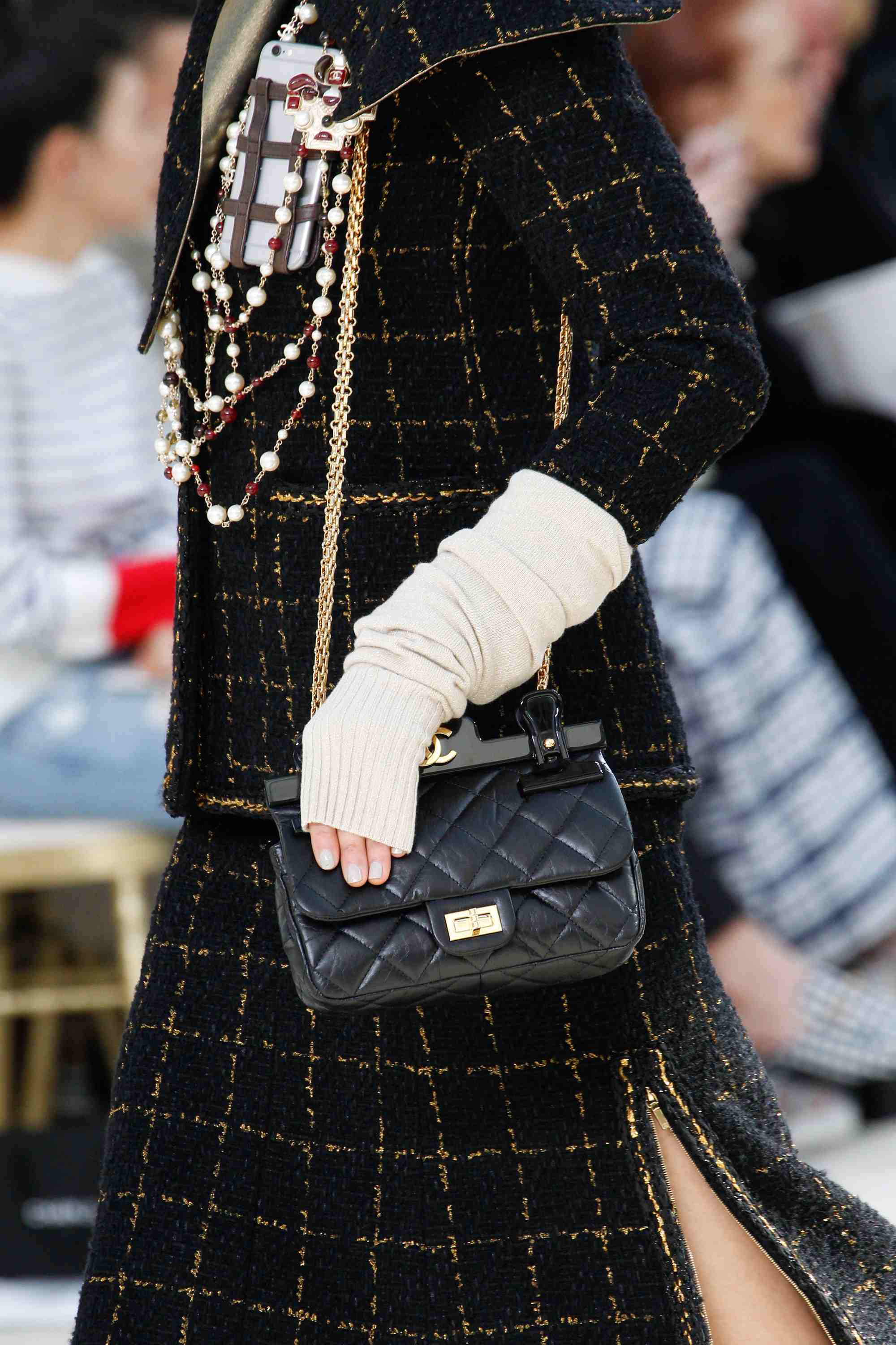 Spring 2017 fashion colors - Chanel Fall Winter 2016 Runway Bag Collection Spotted