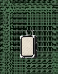 Chanel Black/Ivory Trolley Minaudiere Bag