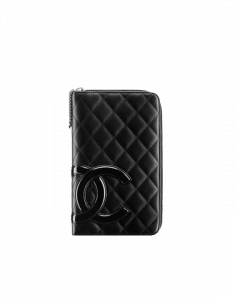 Chanel Cambon Large Zipped Wallet