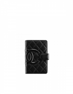 Chanel Cambon Zipped Pocket Wallet