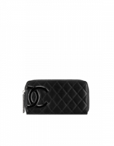 Chanel Cambon Zipped Wallet