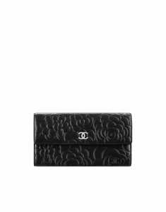 Chanel Camellia Flap Wallet