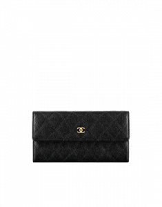 Chanel Classic Quilted Flap Wallet