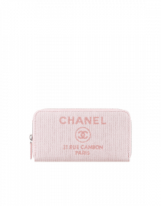Chanel Deauville Zipped Wallet
