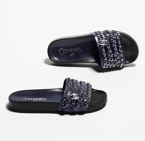 53b7cd2e217 Shop Flat Chain Sandals From Spring Summer 2016