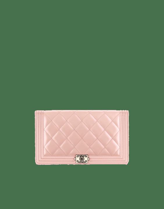 Chanel Iridescent Calfskin Boy Wallet