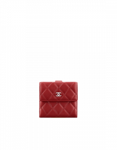 Chanel Lambskin Classic Quilted Small Wallet