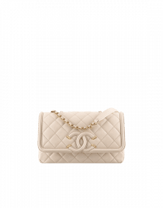 Chanel Light Beige Flap Bag