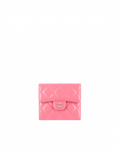 Chanel Patent Calfskin Small Wallet