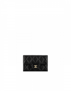 Chanel Quilted Classic Card Holder