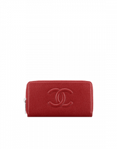 Chanel Timeless CC Zipped Wallet
