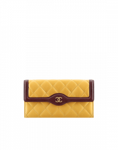 Chanel Two Tone Flap Wallet