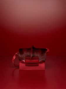 Delvaux Camaieux Rouge de Pourpre Springbok:Nubuck Cheyenne:Lezard Mat Madame Bag