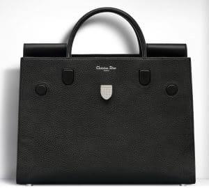 Dior Black Diorever Large Bag