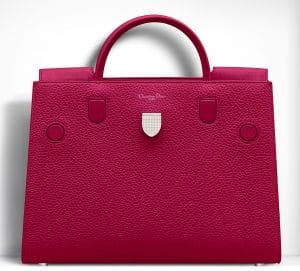 Dior Cherry Pink Diorever Large Bag