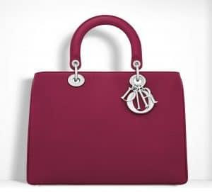 Dior Cherry Red Diorissimo Bag