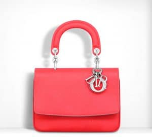 Dior Fluorescent Goji Pink Be Dior Flap Mini Bag