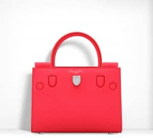Dior Fluorescent Goji Pink Diorever Mini Bag