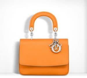Dior Fluorescent Naranja Be Dior Flap Mini Bag