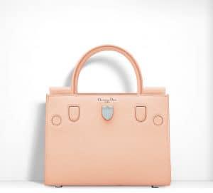 Dior Fluorescent Peach Orange Diorever Mini Bag
