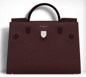 Dior Mahogany Brown Diorever Large Bag