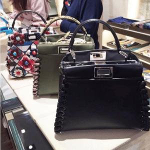 Fendi Fashion Show Peekaboo Bags