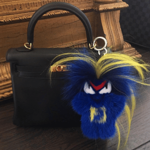 Fendi FendiRumi Bug-Kun Bag Charm 2