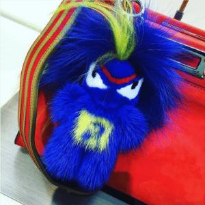 Fendi FendiRumi Bug-Kun Bag Charm 3