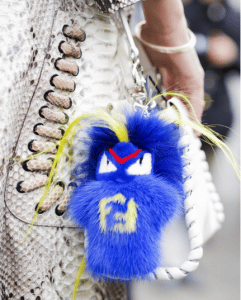 Fendi FendiRumi Bug-Kun Bag Charm 4