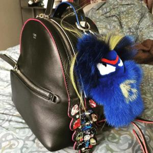 Fendi FendiRumi Bug-Kun Bag Charm 6