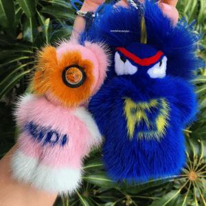 Fendi FendiRumi Bug-Kun and Piro-Chan Bag Charms 1