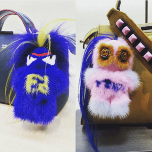 Fendi FendiRumi Bug-Kun and Piro-Chan Bag Charms 2