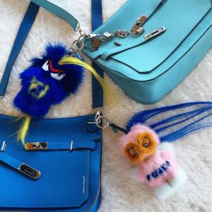 Fendi FendiRumi Bug-Kun and Piro-Chan Bag Charms 4