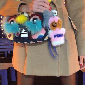 Fendi FendiRumi Piro-Chan Bag Charm 1