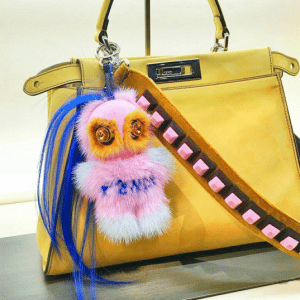Fendi FendiRumi Piro-Chan Bag Charm 2