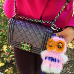 Fendi FendiRumi Piro-Chan Bag Charm 4