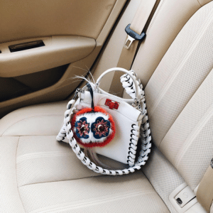 Fendi White Fashion Show Peekaboo Mini Bag 2