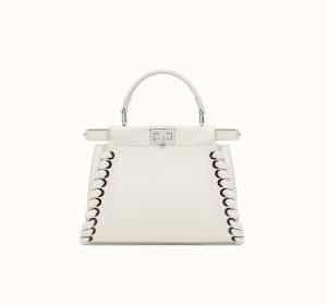Fendi Ecru Fashion Show Peekaboo Mini Bag