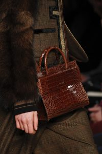 Givenchy Brown Crocodile Top Handle Bag 2 - Fall 2016