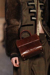 Givenchy Brown Crocodile Top Handle Bag - Fall 2016