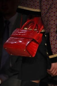 Givenchy Red Crocodile Top Handle Bag - Fall 2016