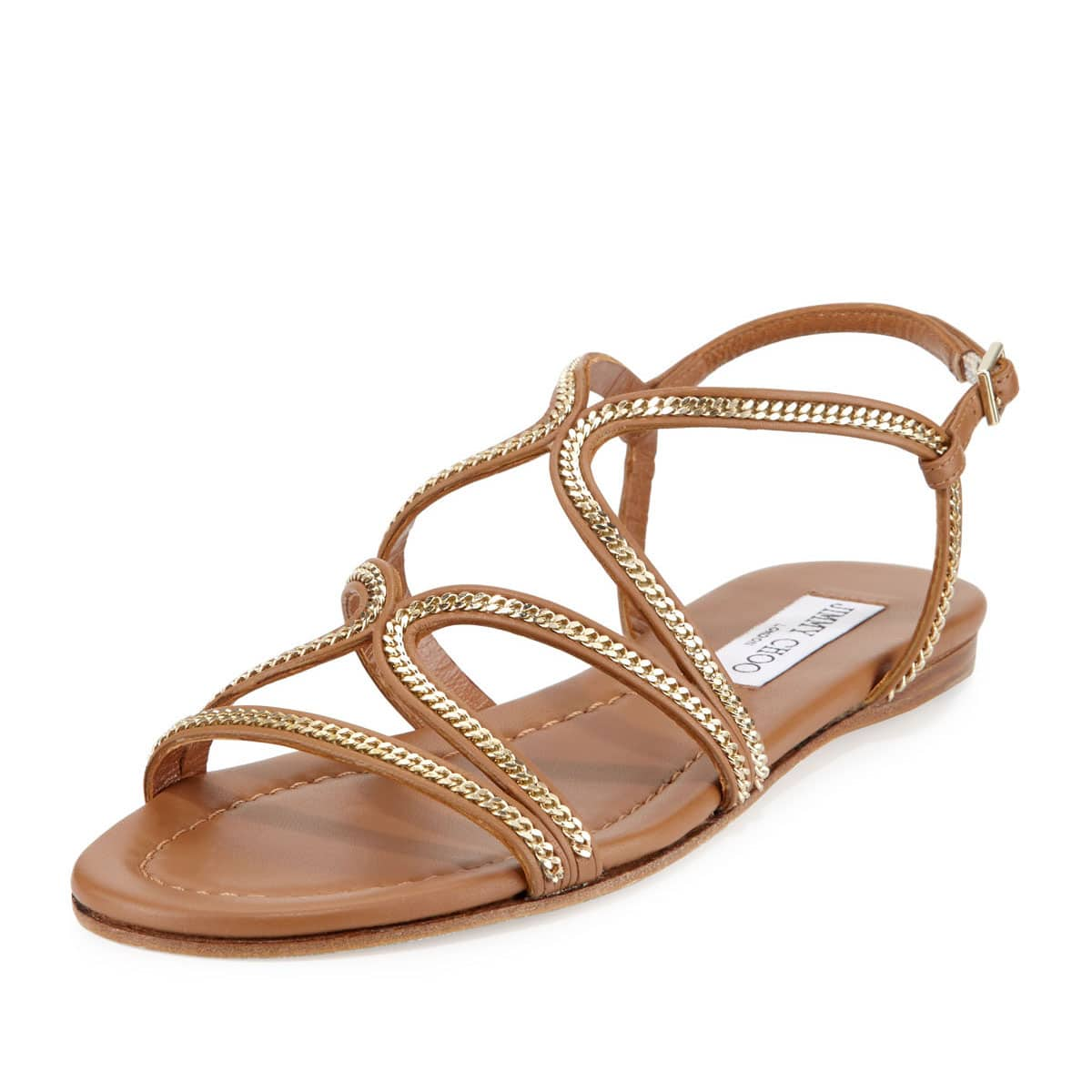 Shop Flat Chain Sandals From Spring/Summer 2016