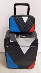 Louis Vuitton America's Cup 2016 Pegase Luggage and Toiletry Bag